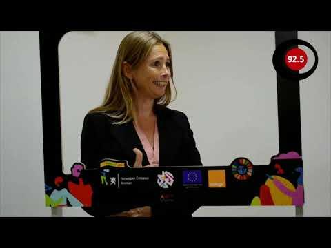 مقابلة مع السفيرة النرويجية تونه أليش في الأردن بمناسبة يوم المرأة العالمي