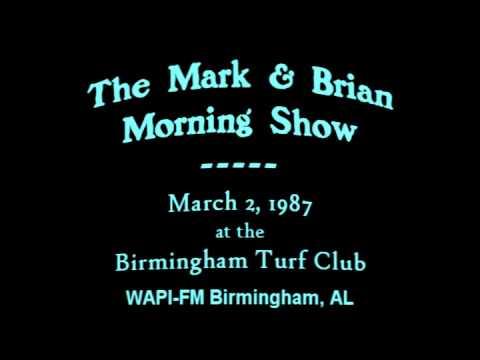 Mark & Brian Morning Show 03/02/1987 WAPI-FM Birmingham AL