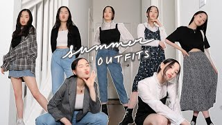 10 Summer Outfits To Wear Once We Can Do Stuff Outside Safely Again ☀️ | Cute, Simple, Casual