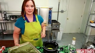 Havent you ever wondered how to make the best cannabutter High Times