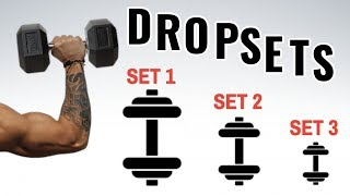 When to do drop sets
