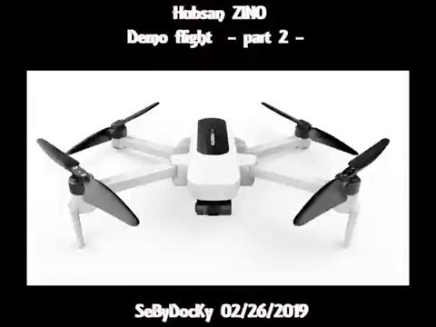 Hubsan Zino demo flights