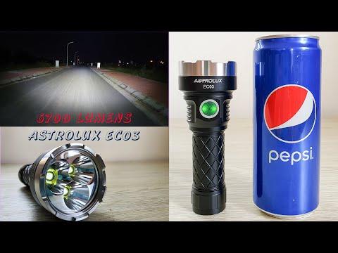 Astrolux EC03 - 6700 Lumens Led Light - Best Value 2020