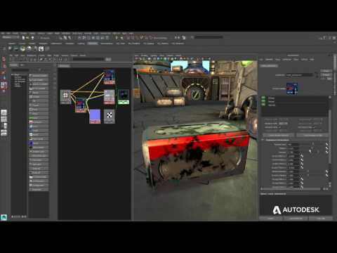 Maya LT 2017 Substance Material integration video 1280x720