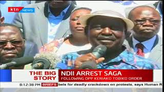 NASA leader, Raila Odinga on David Ndii's arrest saga