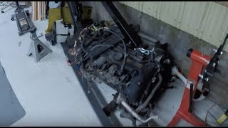 Copart BMW E60 Engine Is Here !! Preparing For BMW N52N AWD Engine Swap