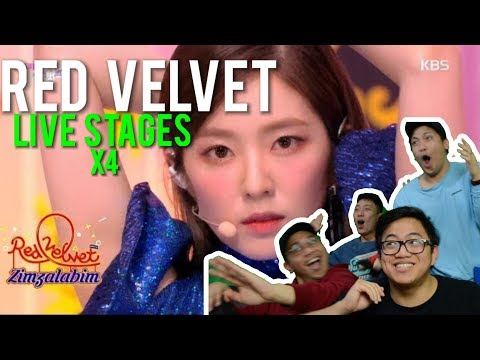 mate... RED VELVET - SUNNY SIDE UP + ZIMZALABIM (LIVE Reactions)