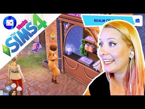 KOUZELNÁ ULIČKA JAK Z HARRYHO POTTERA ● The Sims 4 - ŘÍŠE KOUZEL 02