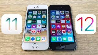 СРАВНЕНИЕ iPhone SE IOS 11.4.1 И IOS 12.0 - СТАЛО ЛИ БЫСТРЕЕ И СТОИТ ЛИ ОБНОВЛЯТЬСЯ