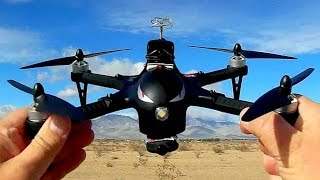 MJX RC Bugs 3 Brushless Drone FPV Flying Flight Test Review