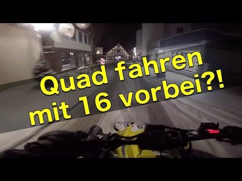 Quad fahren mit 16 vorbei?! / Schneefahrt / Quad-Vlog ToxiQtime