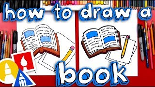How To Draw A Book And Pencil 📖 ✏️