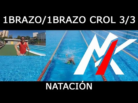 TÉCNICA DE NATACIÓN 2x05 (3/3): 1 Brazo / 1 Brazo de Crol