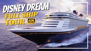 Disney Dream | Full Ship Tour & Review 2019 | 4K | All Public Spaces Explained