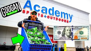 Buying ALL the Googan Baits in Academy **Not Clickbait**