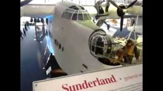 preview picture of video 'Sunderland Flying Boat'