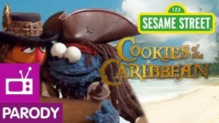 Sesame Street: Cookies of the Caribbean (Pirates of the Caribbean Parody)
