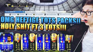 FIFA 16 TOTS PACK OPENING DEUTSCH  FIFA 16 ULTIMATE TEAM  OMG 3 TOTS IN PACKS HOLY SHT