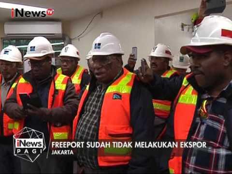 Kisruh Pemerintah Dengan Perusahaan Freeport Belum Usai - iNews Pagi 21/02