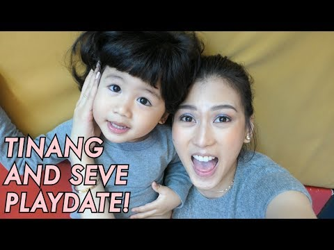 Tata & Seve's Playdate by Alex Gonzaga