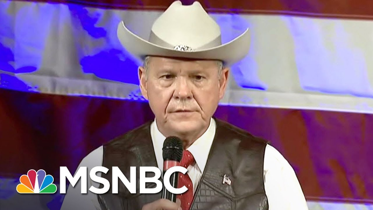 Roy Moore Made $1M From His Tax-Exempt Public Charity | All In | MSNBC thumbnail