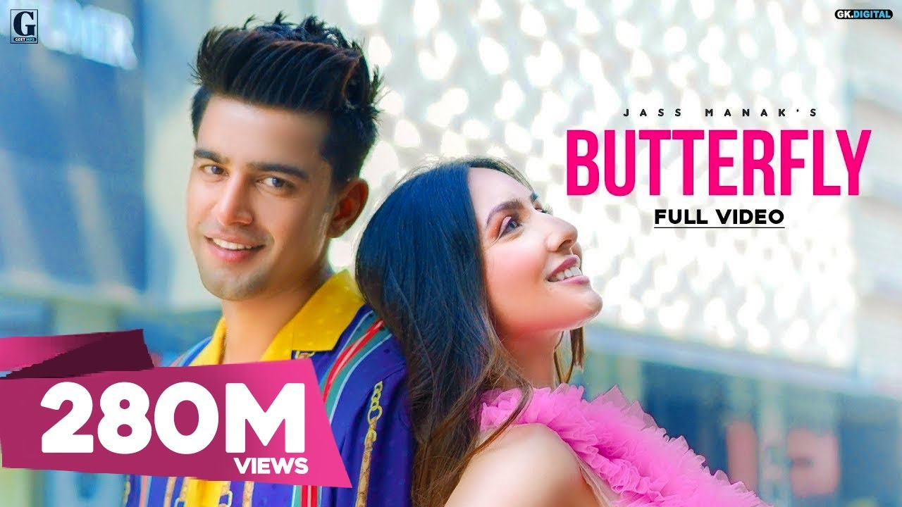 Butterfly : Jass Manak Full Song Lyrics