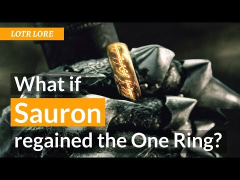 What if Sauron Regained the One Ring - Lord of the Rings Lore letöltés