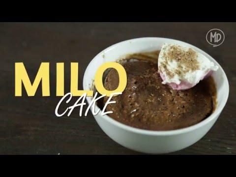 Video Milo Cake
