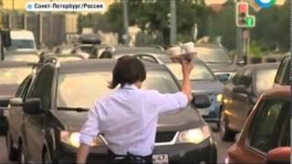 Компания «Эй, кофе!» продает кофе водителям в пробках Петербурга