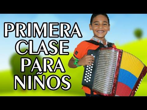 PRIMERA CLASE DE ACORDEÓN PARA NIÑOS - Keiner Torres