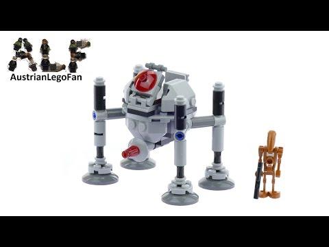 Vidéo LEGO Star Wars 75077 : Droïde Homing Spider