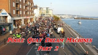 preview picture of video 'Poole Quay Dream Machines 2014 (Part 2)'
