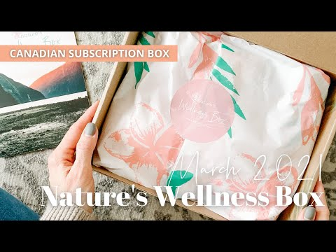 Nature's Wellness Box Unboxing March 2021