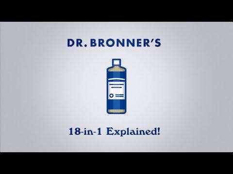 Sabonete Líquido Pure Castillas de Rosas BIO Dr. Bronners, 475 ml