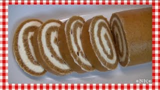 pumpkin roll recipe with box cake mix