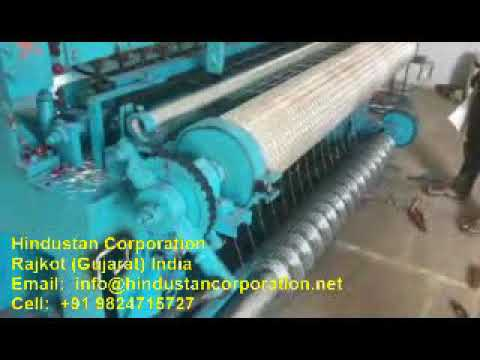 Automatic Welded Wire Mesh Fencing Machine