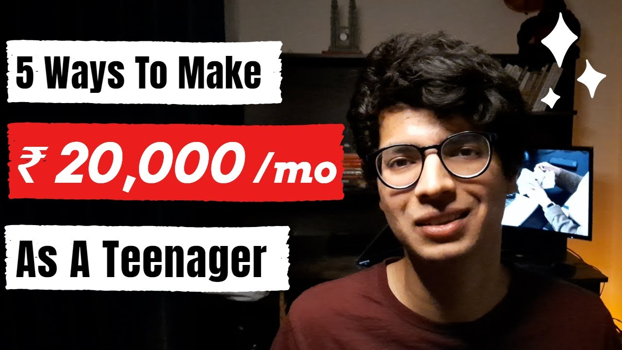 5 Ways To Generate Income As A Teen Online [Absolutely no Financial investment]|How To Earn money As A Teen thumbnail