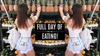 What I Eat In A Day | Meal by Meal | Full Day of Eating For Abs | Snacking & More