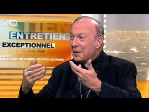 Entretien exceptionnel avec Mgr André-Joseph Léonard