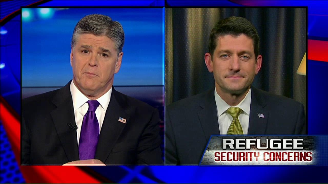 'Remarkably Unpresidential': Ryan Says Obama's 'Playing Politics' with Refugee Concerns