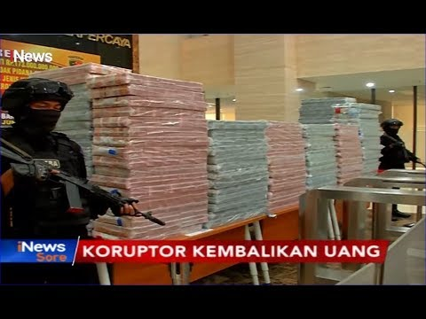 Inilah Tumpukan Uang Rp173 Miliar Hasil Korupsi Pengadaan Solar di PLN - iNews Sore 15/11