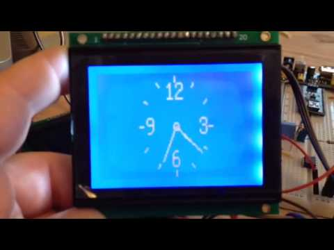 Analog LCD clock - Arduino LCD   Ben-Tommy's project