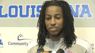 "LA Tech's Kenneth ""Speedy"" Smith on All-Conference award and CUSA Tournament"