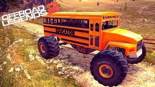 МАШИНКИ OFFROAD LEGENDS 2 гонки МОНСТР ТРАКИ игра как мультики про машинки для детей monster truck 6