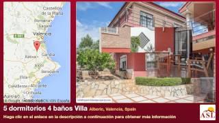 preview picture of video '5 dormitorios 4 baños Villa se Vende en Alberic, Valencia, Spain'