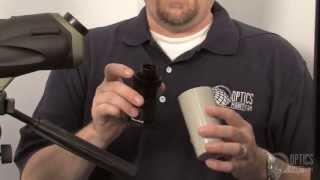 Celestron Ultima 80 Spotting Scope - OpticsPlanet.com Product in Focus