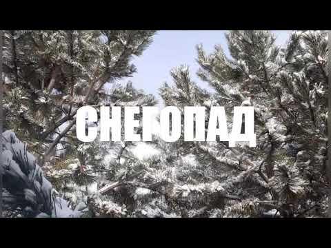 Снегопад. Красивая музыка Сергея Чекалина