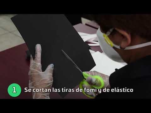 ELABORACIÓN DE MASCARILLAS PROTECTORAS