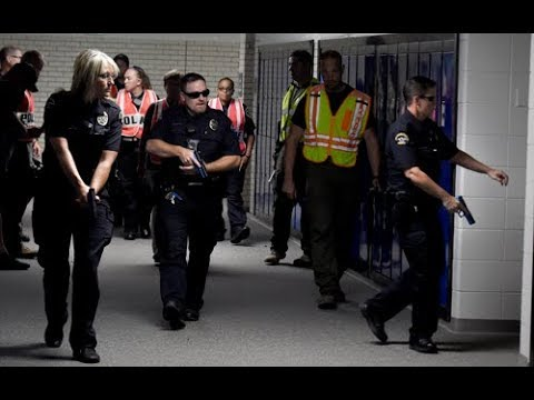 Active Shooter Drill at Broomfield High School - Boulder