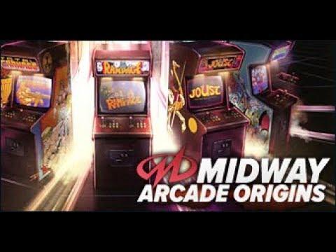 Midway Arcade Origins ps3 gameplay